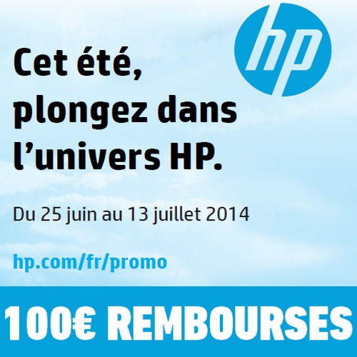 offre de remboursement 100 sur pc hp. Black Bedroom Furniture Sets. Home Design Ideas