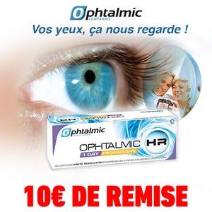 1d579eb752618 Offre de Remboursement Shopmium 10€ sur Lentilles Journalières Ophtalmic