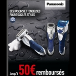 anti-crise.fr offre de remboursement sur rasoir et tondeuse panasonic