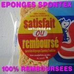 odr - eponges spontex tradition satisfait ou rembourse