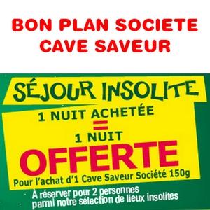 Bon plan cave saveur societe sejour offert et bons de reduction