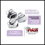 Offre de Remboursement (ODR) Polti : Offre d'essai de 15 jours sur les centrales vapeur - anti-crise.fr