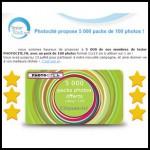 Test de Produit Tester Tout : Pack de 100 photos à développer sur 1 an avec Photocité - anti-crise.fr