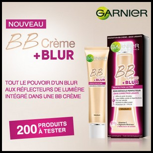 test de produit beaut test bb cr me blur de garnier. Black Bedroom Furniture Sets. Home Design Ideas