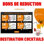 bon de réduction destination cocktails