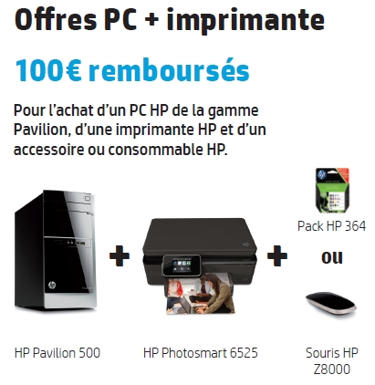 Bon de reduction hp imprimante