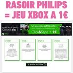 Bon plan rasoir philips clck&style achete jeu xbox a 1 euro