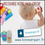 Test de Produit Conso Baby : Pack Crèche BienMarquer - anti-crise.fr