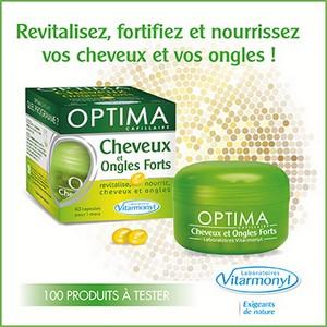 Test de Produit Beauté Test : Optima Cheveux et Ongles Forts des Laboratoires Vitarmonyl - anti-crise.fr