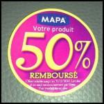 Offre de Remboursement (ODR) Mapa : 50 % remboursés sur la gamme Soin du Linge - anti-crise.fr