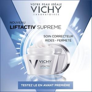 Test de Produit Beauté Test : Soin LiftActiv Supreme de Vichy - anti-crise.fr