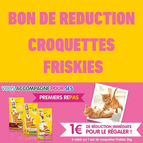 Anti crise bon de r duction 1 sur croquettes friskies - Bon de reduction atylia ...