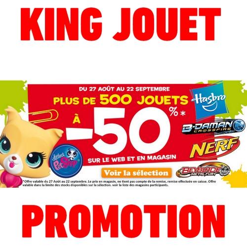 Bon plan king jouet plus de 500 jouets 50 - Code promo king jouet frais de port gratuit ...