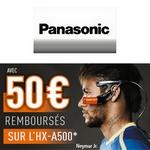 odr - offre de remboursement 50 euros sur camera d'action 4k panasonic