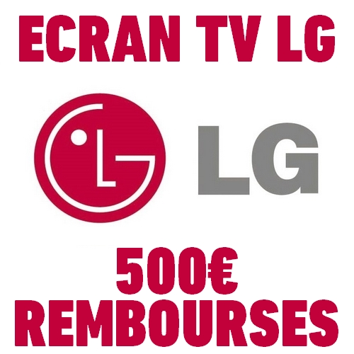offre de remboursement odr 500 sur ecran tv lg. Black Bedroom Furniture Sets. Home Design Ideas