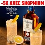 odr - offre de remboursement shopmium cinq euros sur ballantines 12 ans