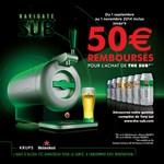 Offre de Remboursement (ODR) Krups : 50 € remboursés sur The Sub aluminium ou noir - anti-crise.fr
