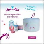 Tirage au Sort Luc et Léa sur Facebook : Vanity Mes indispensables à la maternité à gagner - anti-crise.fr