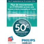 Offre de Remboursement (ODR) Philips : Jusqu'à 50€ sur brosse à dents Sonicare - anti-crise.fr