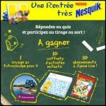 Tirage au Sort Nesquik & Croquons la Vie : Week-End en famille au Futuroscope - anti-crise.fr