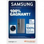 Offre de Remboursement Samsung : 5 % sur votre produit acheté chez Boulanger - anti-crise.fr