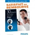 Offre d'Essai Philips : Votre Rasoir Satisfait ou 100 % Remboursé - anti-crise.fr