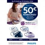 Offre de Remboursement (ODR) Philips : Jusqu'à 50 € sur Centrale Vapeur PerfectCare Philips - anti-crise.fr