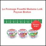 Test de Produit trnd : Le Fromage Fouetté Madame Loïk Paysan Breton - anti-crise.fr