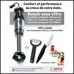 Bon Plan Bosch : Accessoires culinaires Offerts pour l'achat d'un Mixeur MaxoMixx - anti-crise.fr