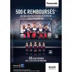 Offre de Remboursement (ODR) Panasonic : 500 € Remboursés sur Ecrans 4K Ultra HD - anti-crise.fr