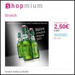 Offre de Remboursement (ODR) Shopmium - Grolsch à 2,50 € - anti-crise.fr