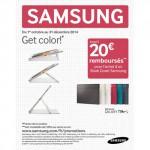 Offre de Remboursement (ODR) Samsung : Jusqu'à 20 € sur les Book Cover - anti-crise.fr