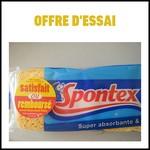 Offre d'Essai (ODR) Spontex : Eponges Tradition Satisfait ou 100 % Remboursées - anti-crise.fr