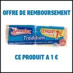 Offre de Remboursement (ODR) Spontex : 2 Eponges Tradition à 1 € - anti-crise.fr