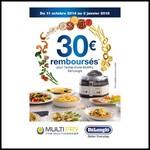 Offre de Remboursement (ODR) Delonghi : 30 € Remboursés pour l'achat d'une Multifry - anti-crise.fr
