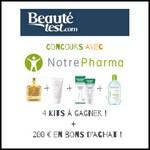 Tirage au Sort Beauté Test : Kit de produits de beauté à Gagner - anti-crise.fr