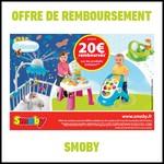 Offre de Remboursement (ODR) Smoby : Jusqu'à 20 € sur les Porduits Cotoons - anti-crise.fr