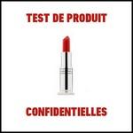 Test de produit Confidentielles : Rouge à lèvres Hydra Brillance de Nutrimetics - anti-crise.fr