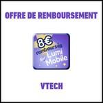 Offre de Remboursement (ODR) VTech : 8€ sur un Lumi Mobile Parlant - anti-crise.fr