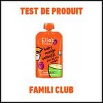Test de Produit Famili : Gourde de yaourt aux céréales et fruits bio Ella's Kitchen - anti-crise.fr