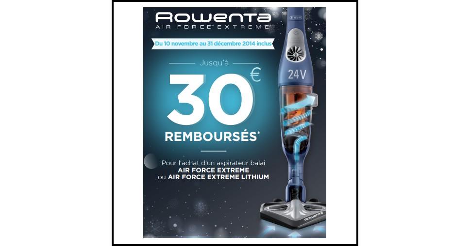offre de remboursement odr rowenta jusqu 30 sur. Black Bedroom Furniture Sets. Home Design Ideas