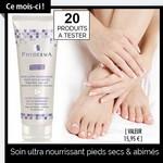 Test de Produit Phyderma : Soin ultra nourrissant pieds secs & abimés - anti-crise.fr