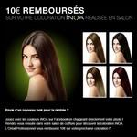 Offre de Remboursement (ODR) L'Oréal : 10€ aux 1000 premières participantes ayant réalisé une coloration d'oxydation avec INOA - anti-crise.fr