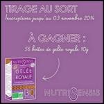 Tirage au Sort Nutrisensis sur Facebook : Boîte de Gelée Royale à Gagner - anti-crise.fr