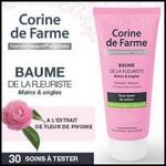 Test de Produit Beauté Addict : Baume de la fleuriste Corine de Farme - anti-crise.fr