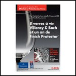 Bon Plan AEG : 8 Verres à Vin Villeroy et Boch + 1 an de Finish Protector Offerts - anti-crise.fr