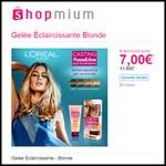 Offre de Remboursement (ODR) Shopmium : Gelée Éclaircissante Blonde L'Oréal à 7,00 € - anti-crise.fr