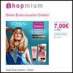 Offre de Remboursement (ODR) Shopmium : Gelée Éclaircissante Châtain L'Oréal à 7,00 € - anti-crise.fr