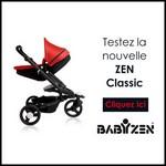 Test de Produit Conso Baby : Poussette ZEN Classic Babyzen - anti-crise.fr