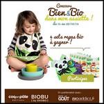 Tirage au Sort Bio Addict sur Facebook : Set Repas Biobu by Ekobo et Coq en Pâte à Gagner - anti-crise.fr